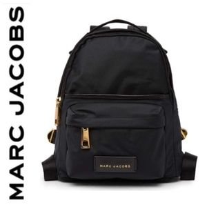 Marc Jacobs LARGE Nylon backpack black